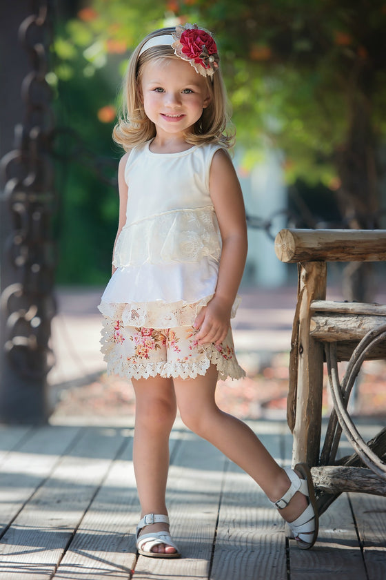 TILLIE SHORT-Brown