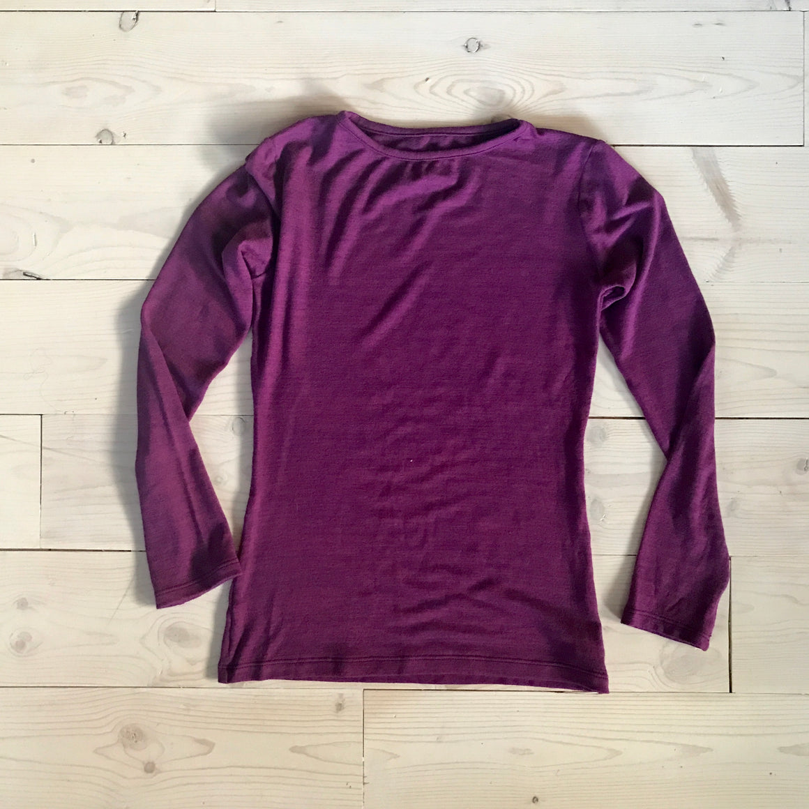 ASPYN TEE - Purple -Spring 16' Sample - size 12