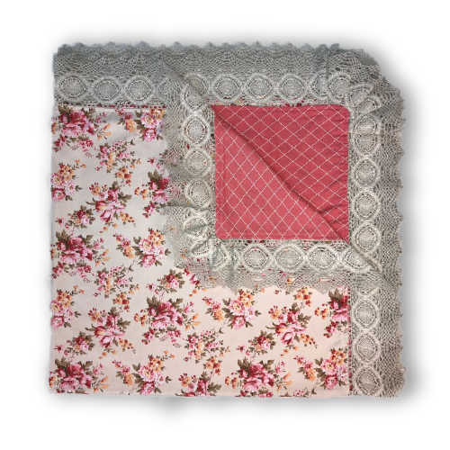 Aiden Blanket - Pink Diamond
