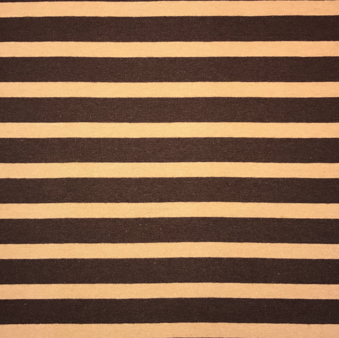 Brown/Carmel Stripe Knit -