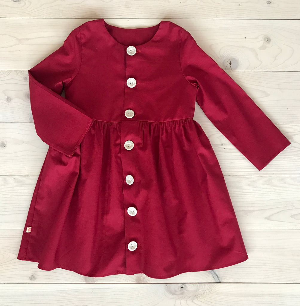 Frankie Dress - Red