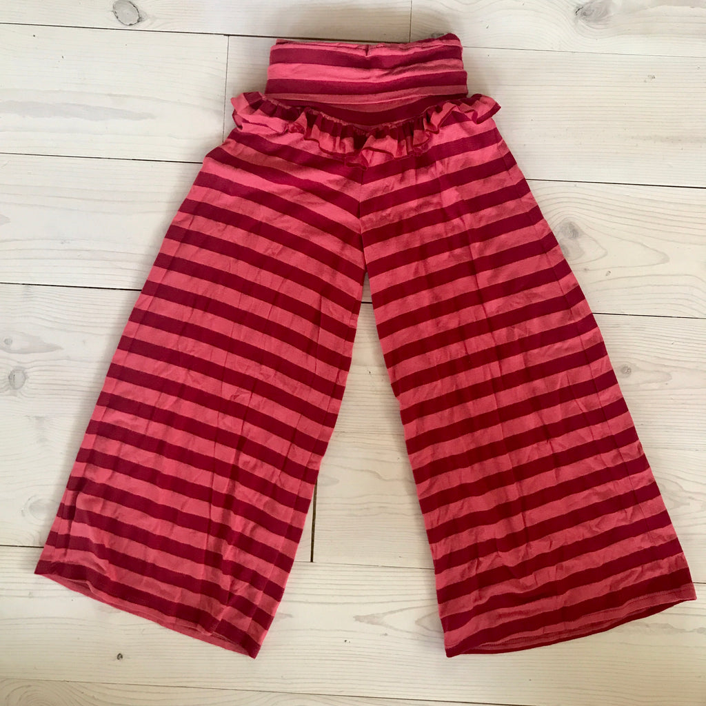 Palazzo Pant - Red Stripe - Spring 16 Sample -size 3