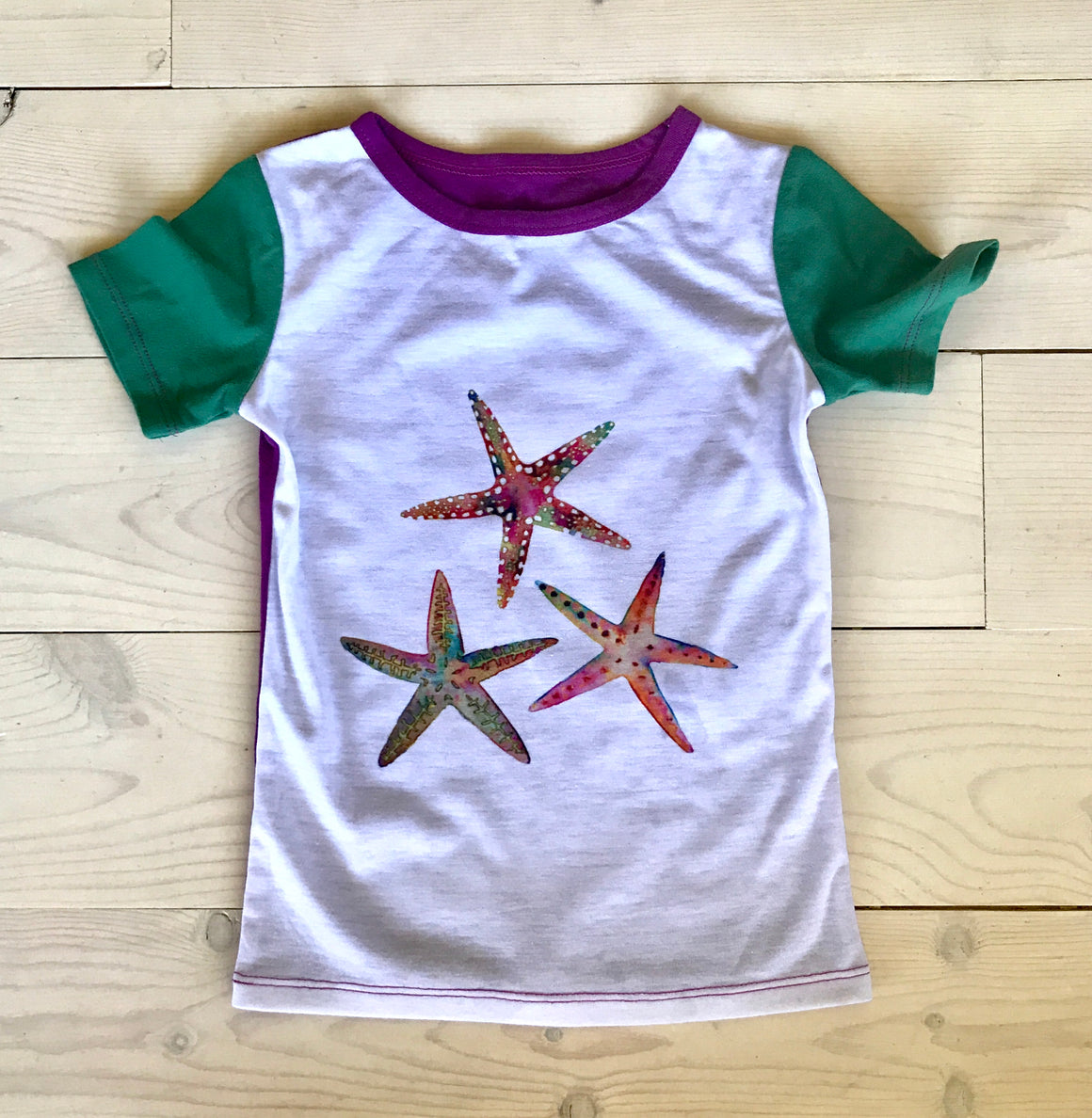 ASPYN TEE - Starfish - Spring 16' Sample - Size 3
