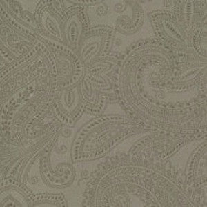 Puzzle Pieces Paisley Grey -