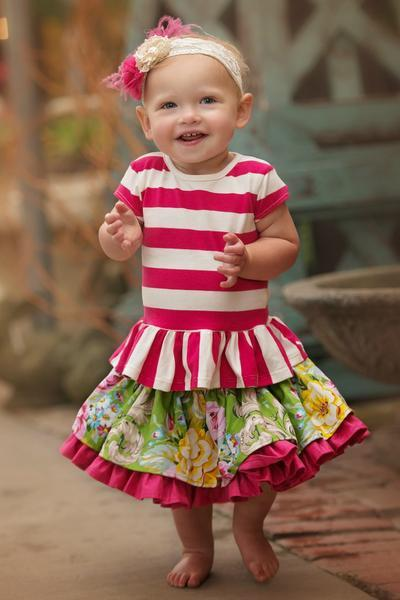 Lily Skirt (baby) - Spring 15 Sample - size 6-12M