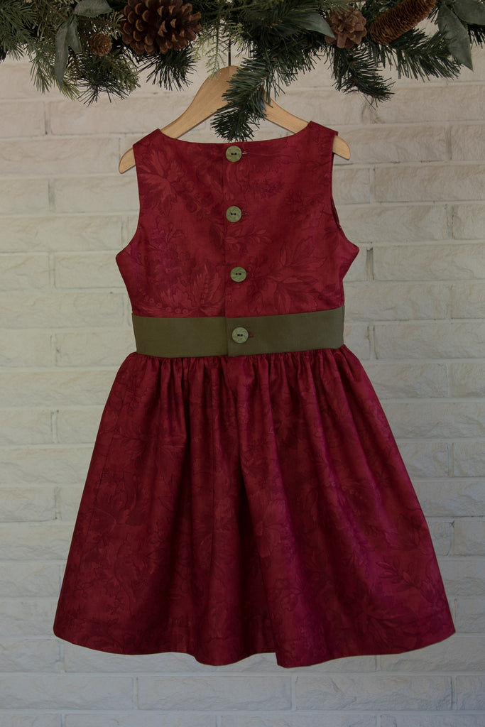 Kate Dress - Scarlet