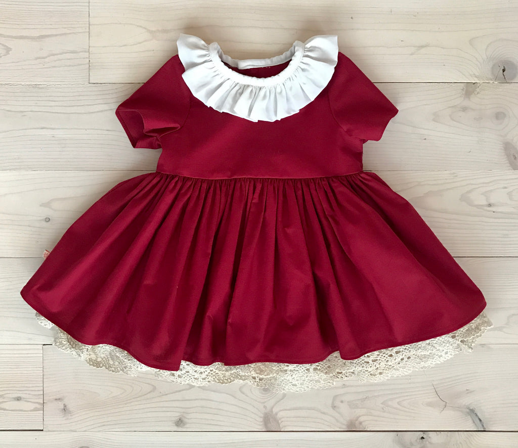 Audrey Dress - Red sample sz 3