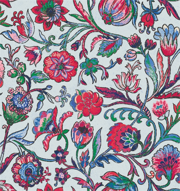 Isabelle Floral - Rayon Challis -