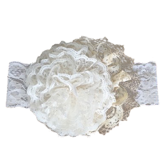 Jerrica Headband-Cream