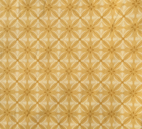 Geometric Medallion Gold - Twill - 2 way stretch ( K )