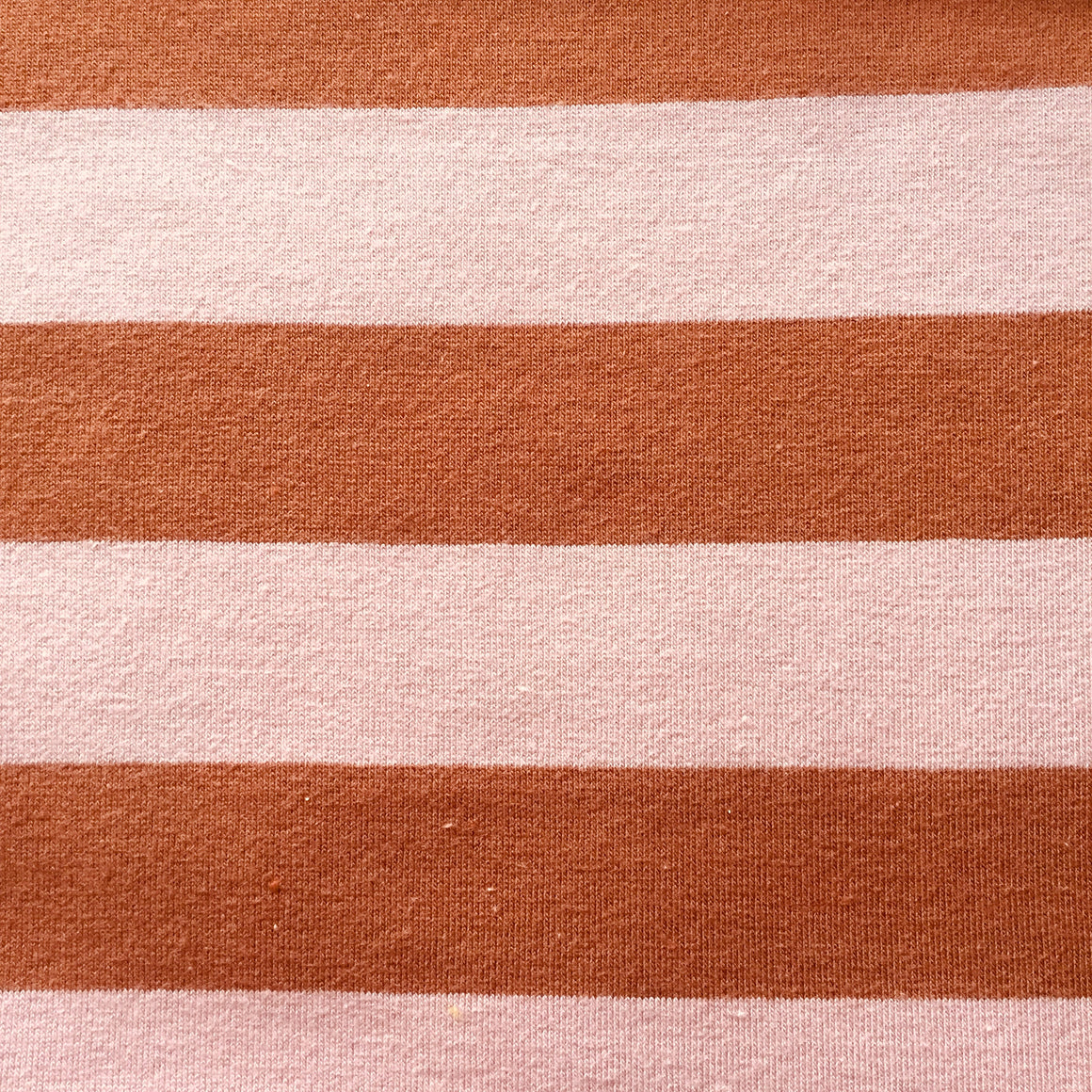 Burnt Red/Pink Stripe Knit -