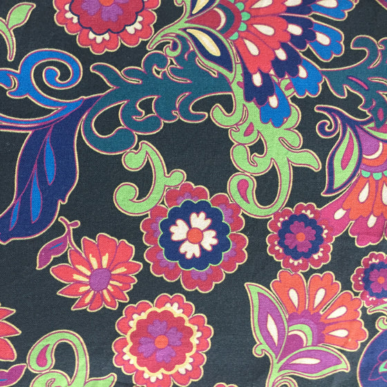 Persnickety Black Floral -
