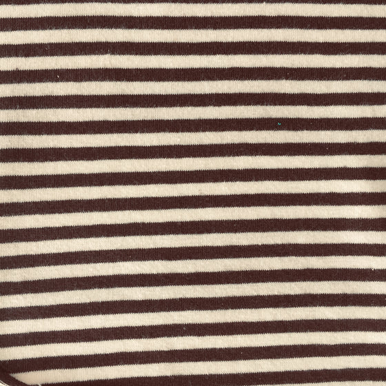 Brown/Cream Mini Stripe Knit