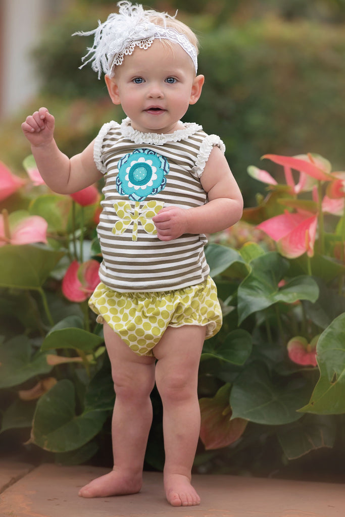 Ruffle Diaper Cover (GDT) - Spring 15 Sample