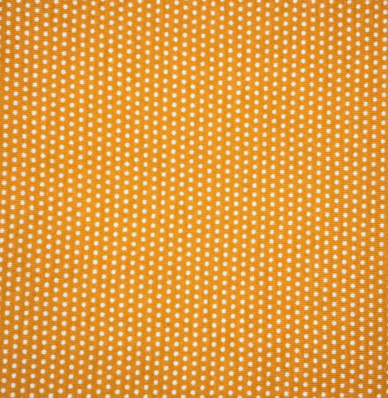 Orange Mirco Dot - Poplin -