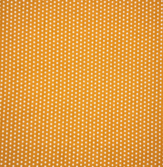 Orange Micro Dot Knit -