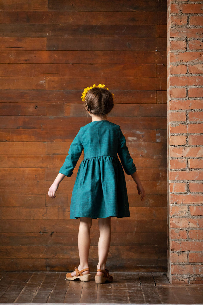 Frankie Dress - Deep Teal