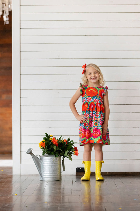 Maddie Dress - Bright Floral