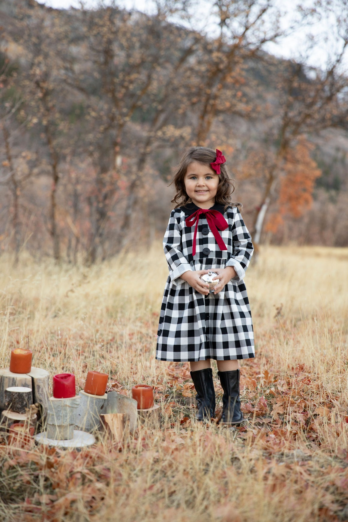 Frankie Dress - Buffalo Plaid