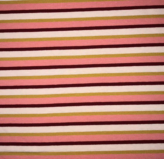 Pink Multi Stripe Knit -