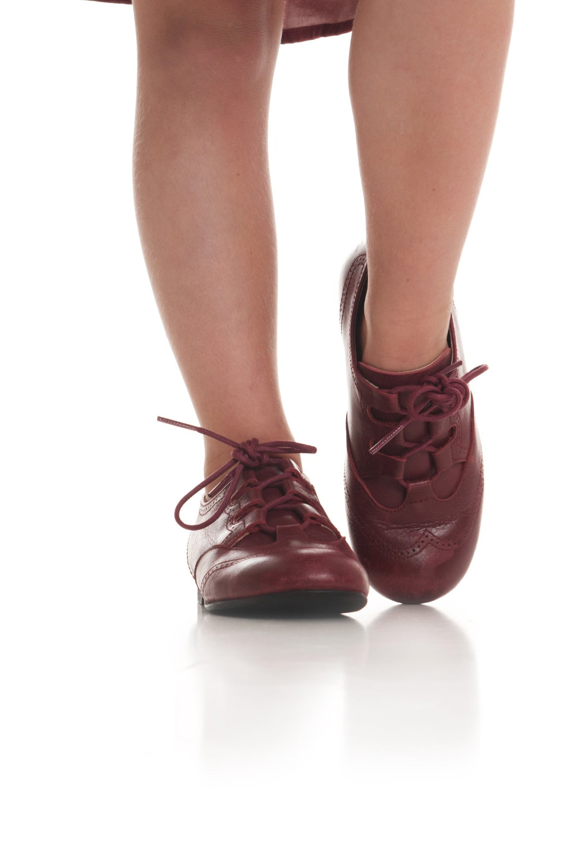 Belfore Shoe- Burgandy