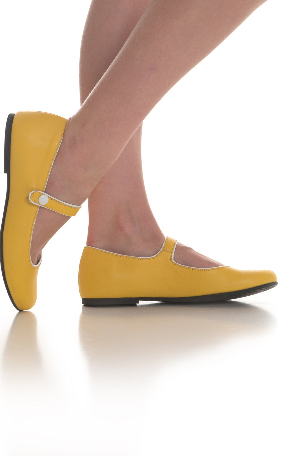 Robinne Shoe- Yellow