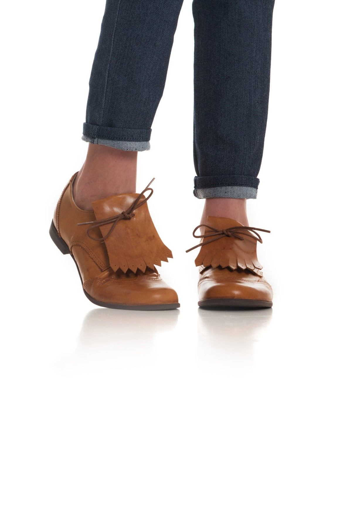 Berkley Shoe- Fringe Tan