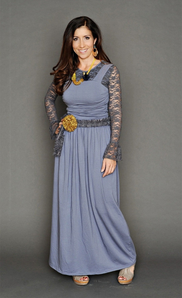 Women's Piper Dress (Slate Blue & Gray Options)