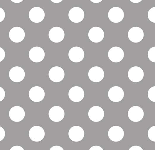 Gray Dots - Medium -