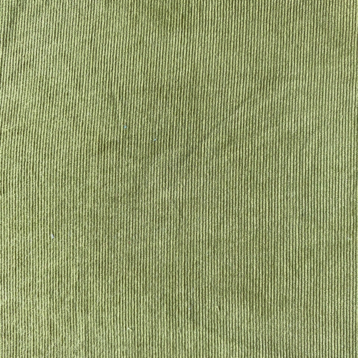"Olive Green Corduroy - 60"" wide"
