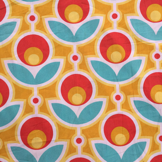 Persnickety Bright Floral - Poplin Fabric