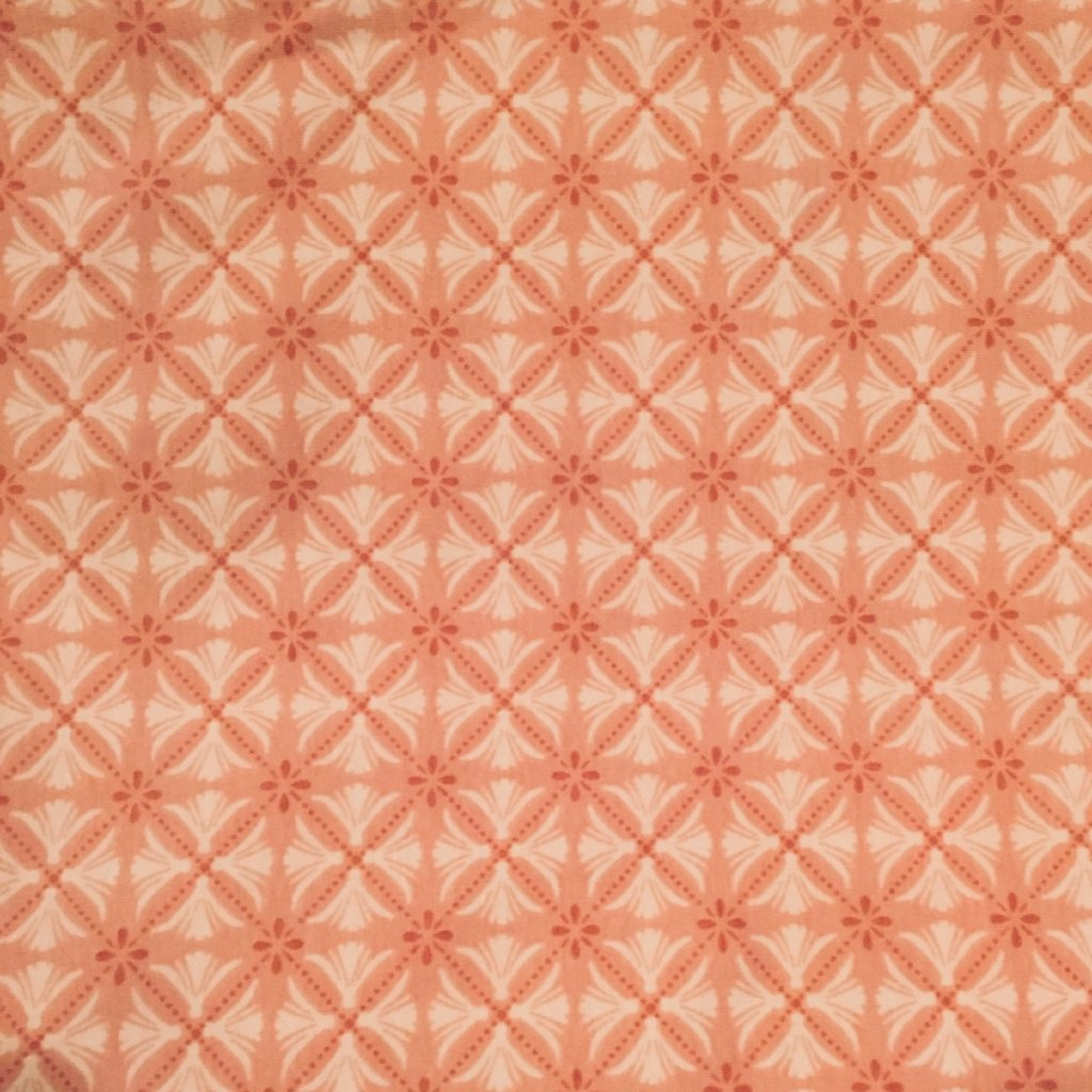 Geometric Medallion Pink Knit