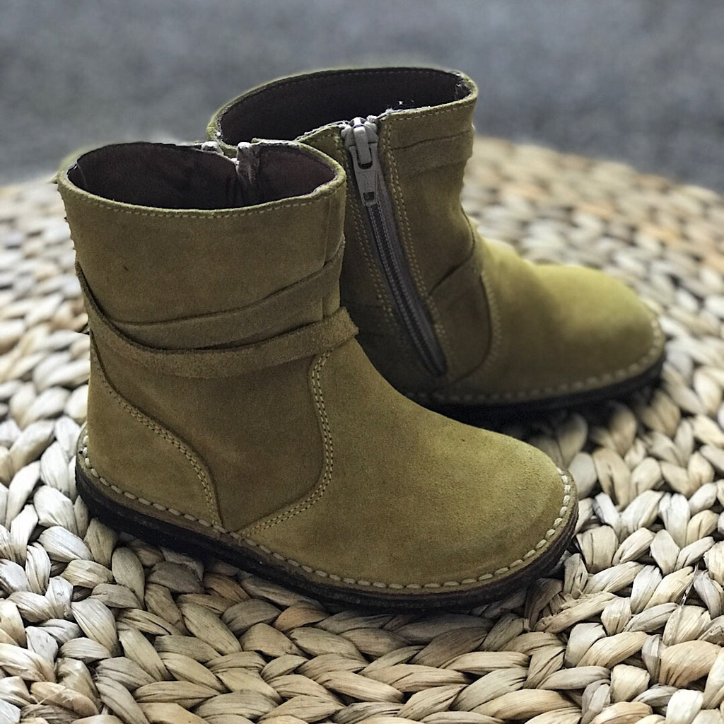 Suede leather Pepe boots sz 8 #10