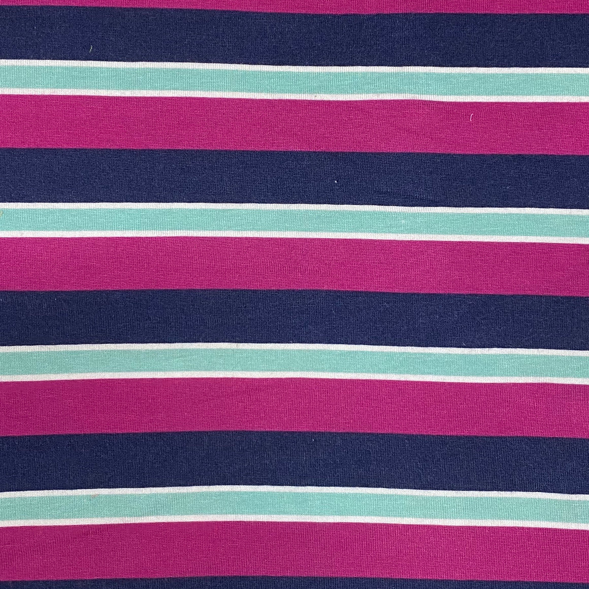 Purple Navy Stripe Knit -