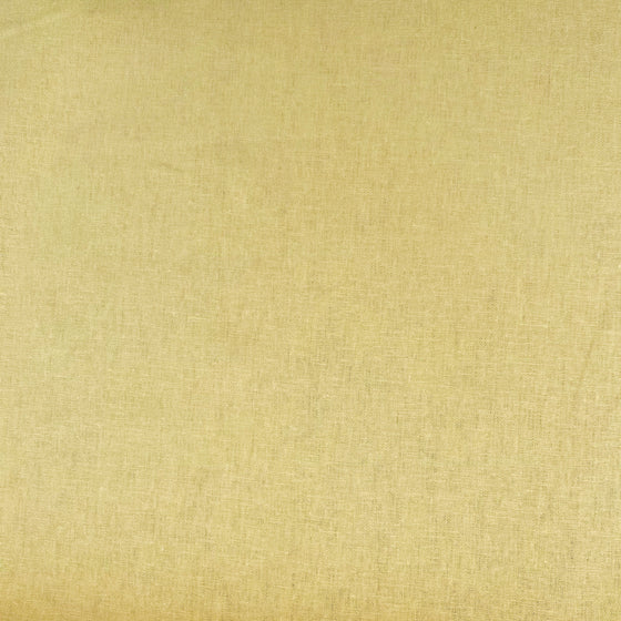 Yellow Linen Cotton Blend