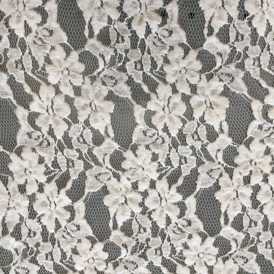 "White Flower Lace 60"" wide"