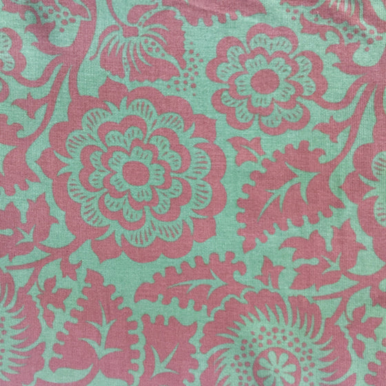 "Forest Damask Corduroy - 60"" wide"