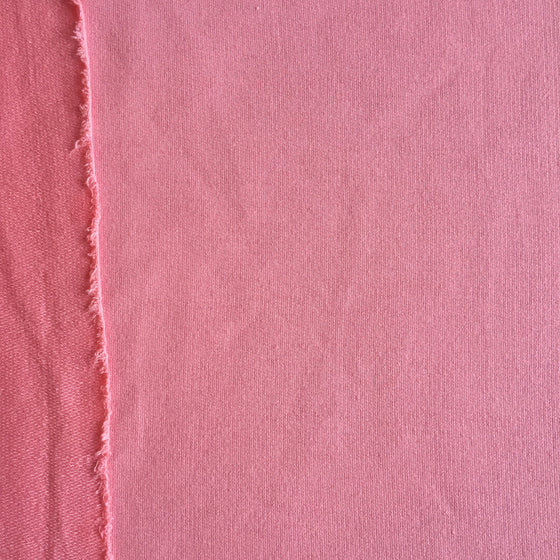 "Pink French Terry Knit - 56"" wide"