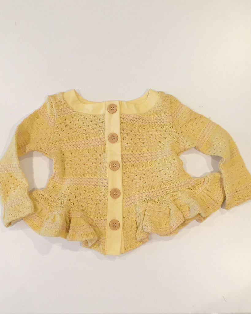 Asymmetrical Jane Sweater - Yellow