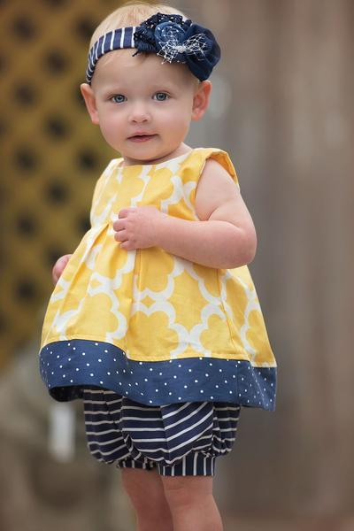 Allison Top - Spring 15 Sample - 6-12M