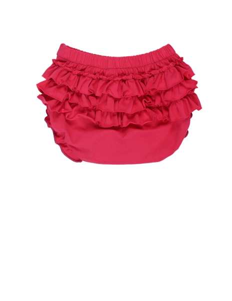 Ruffle Diaper Cover (PNK)  - Spring 15 Sample