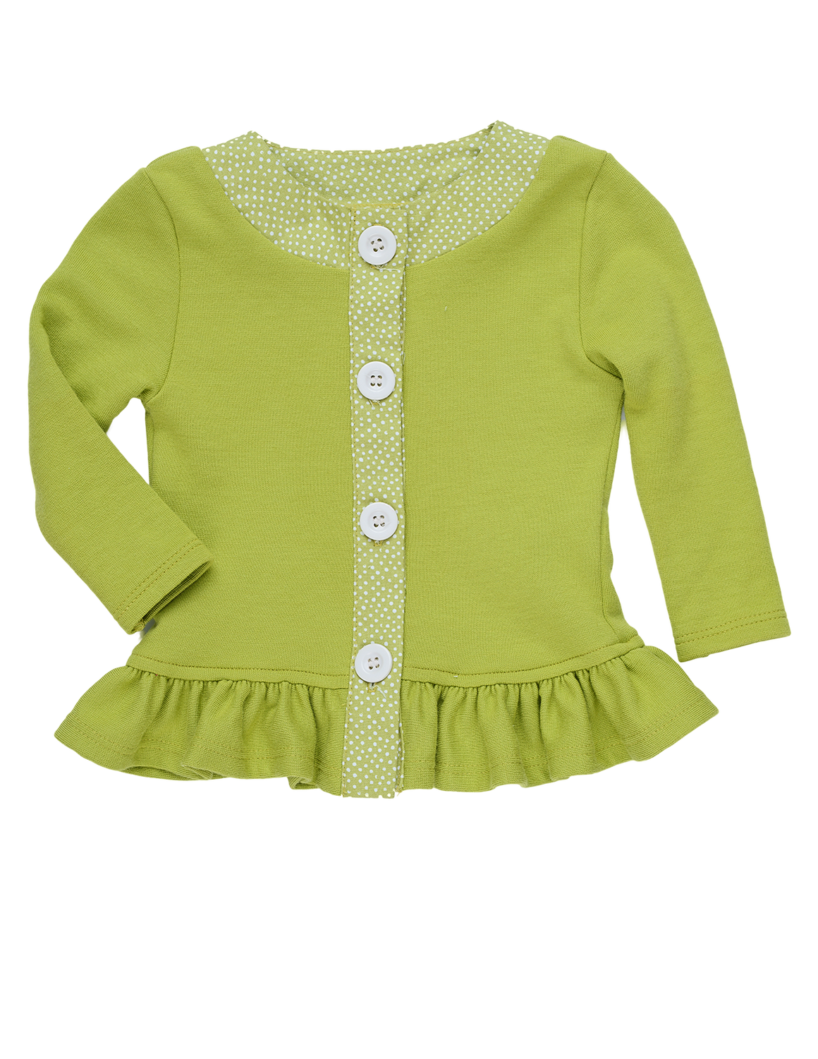 Jane Sweater baby (GRN) - Sample - 6-12M