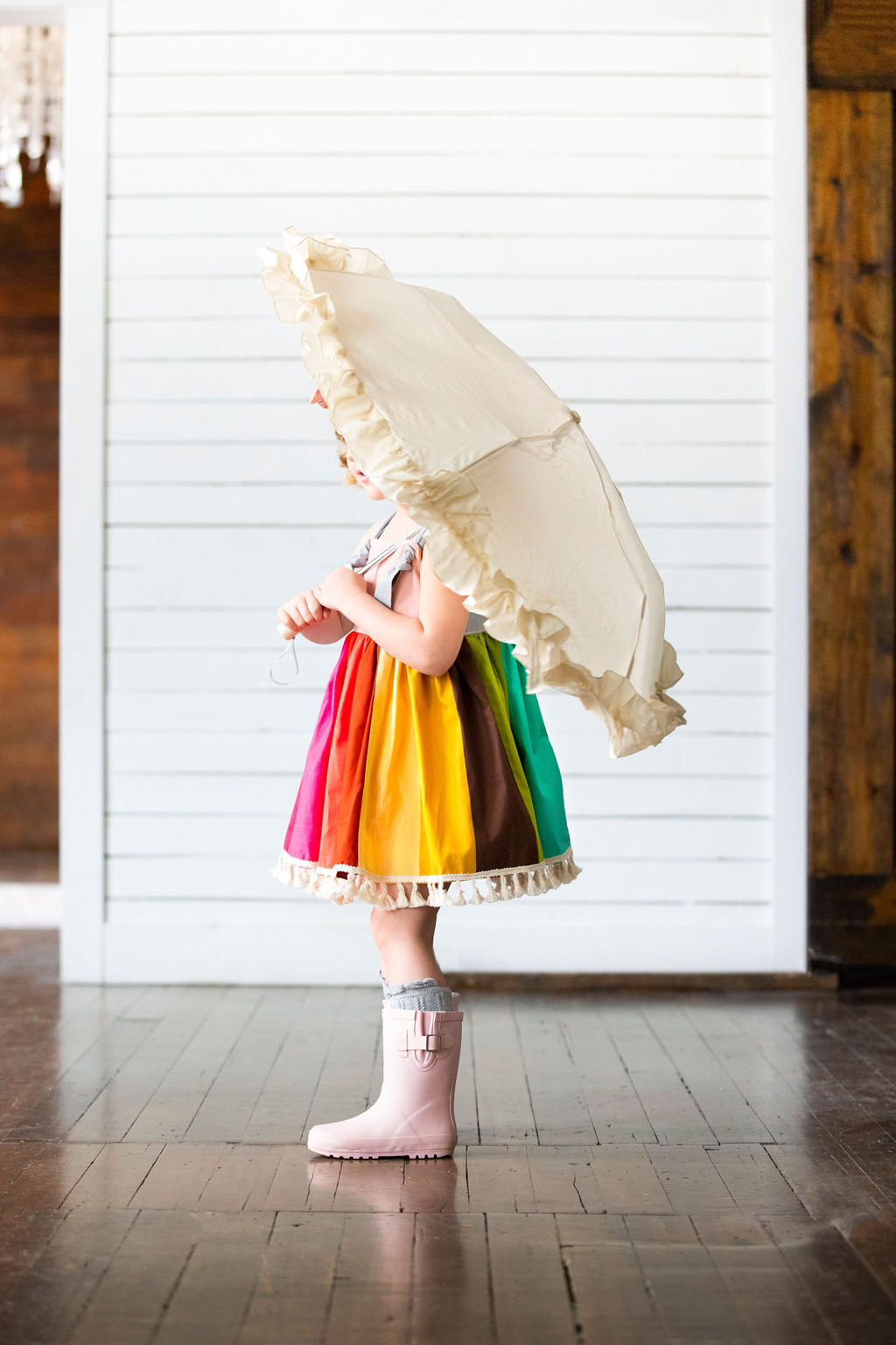 Rainbow Knot Dress