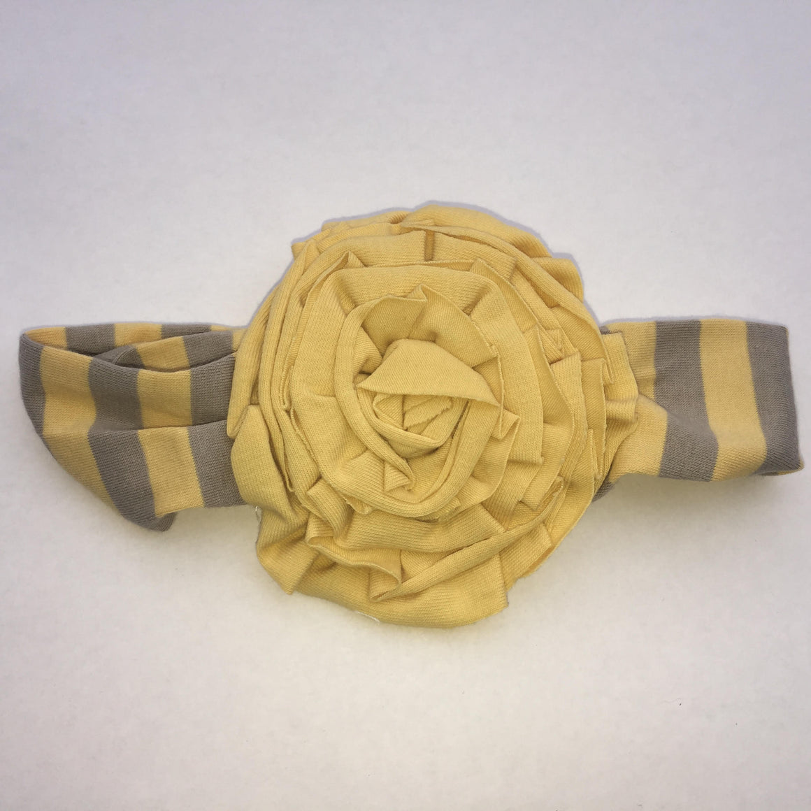 Rosette Headband (Yellow)