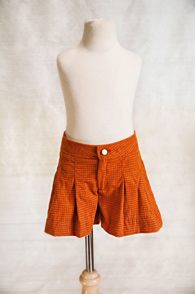 Delilah Short - Orange SAMPLE