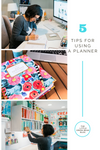 5 tips on using a planner