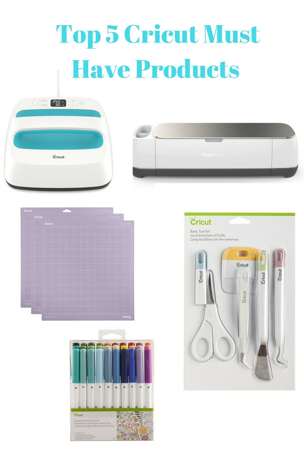 Top 5 Cricut Must Have products!