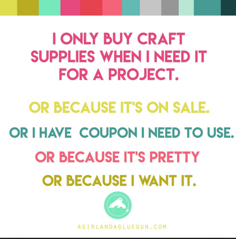craft supply hoarder