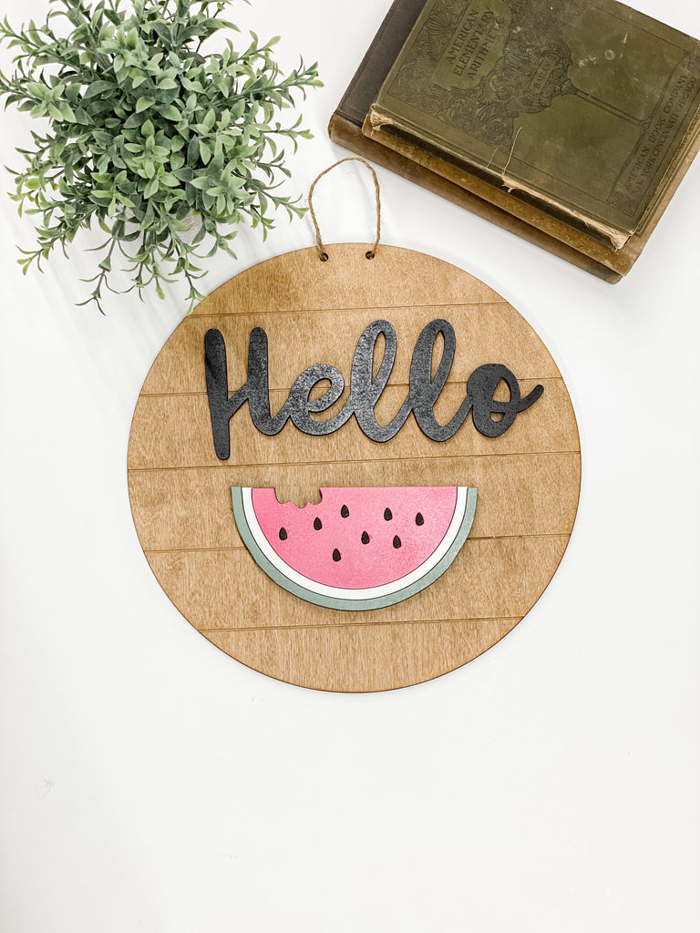 Watermelon | Interchangeable Pieces