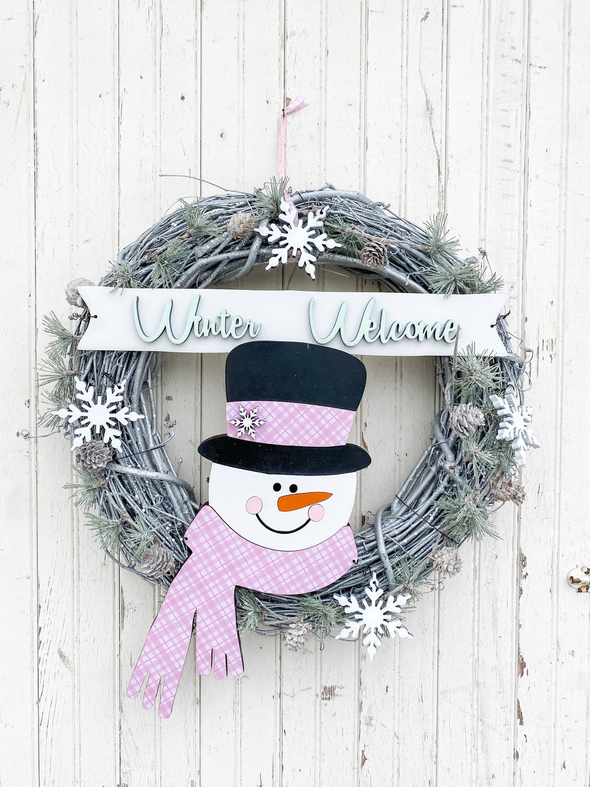 DIY Wreath Kit | Winter Welcome Wreath